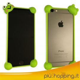 Bumper Custodia per iPhone 4 5 6 Protettivo per Bambini Cover in Silicone