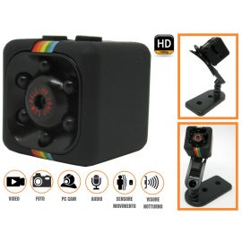 videocamera spia nascosta  visione notturna sensore di movimento spy cam 1080p
