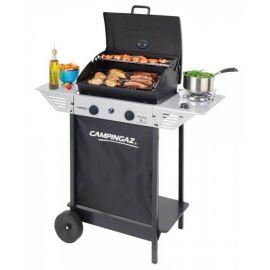 Barbecue a gas Campingaz Xpert 100 LS Rocky Grigio e Nero per Giardino Terrazza Campeggio 98x48x124