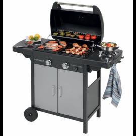 Barbecue a gas professionale Campingaz 2 Series Classic Exs Vario Giardino Terrazza Campeggio 127,4x54,1x108,5