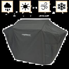 Custodia Barbecue Campingaz in PVC Rettangolare Traspirante Resistente al Sole e Pioggia 136x62x105