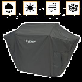 Custodia Barbecue Campingaz in PVC Rettangolare Traspirante Resistente al Sole e Pioggia 153x63x102