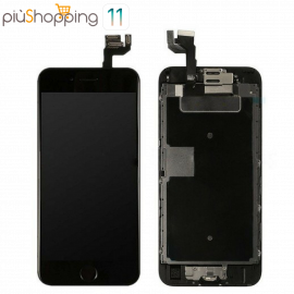 IPHONE 6s COMPLETO NERO TOUCH SCREEN LCD DISPLAY RICAMBIO RETINA FRAME PER APPLE  VETRO SCHERMO