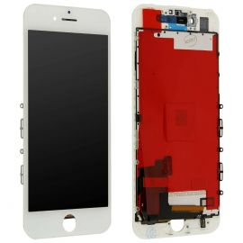 IPHONE 7 BIANCO TOUCH SCREEN LCD DISPLAY RICAMBIO RETINA FRAME PER APPLE VETRO SCHERMO