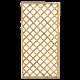 Pannello Grigliato in Legno per Giardino Balcone Terrazzo  Rettangolare 90x180h