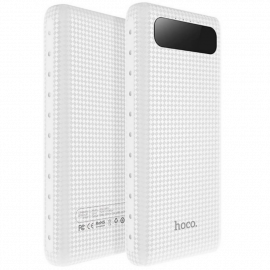 Power Bank 20000 mAh 2 USB Batteria Esterna Portatile con Display e Led