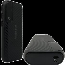 Power Bank 50000 mAh 3 USB Display LED Nero