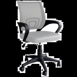 Sedia da Ufficio Sabbia Ergonomica Lombare, con Braccioli, Girevole e Regolabile, Traspirante, Operativa 50x58x96