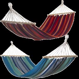 Set 2 Amache da Giardino Sospese in Cotone - Multicolor 200x100