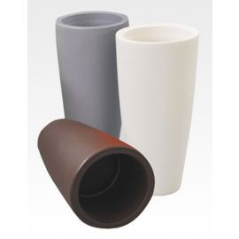 Set 3 Vasi in resina colorata 33x70h