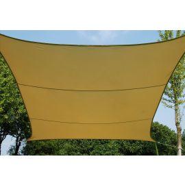 Vela Ombreggiante quadrata beige cm. 500x500 per esterno
