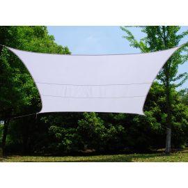 Vela Ombreggiante quadrata bianca cm. 500x500 per esterno